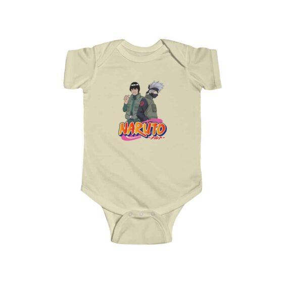Might Guy and Kakashi Hatake Awesome Naruto Baby Onesie