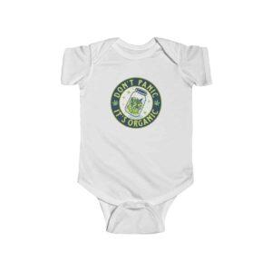 Don't Panic It's Organic 420 Marijuana Kush Infant Clothes