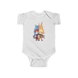 Jinchuriki Naruto and Gaara Art Cute Baby Toddler Onesie