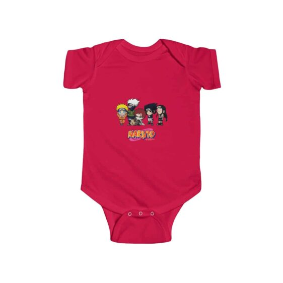 Cute Famous Naruto Characters Lovely Baby Toddler Onesie
