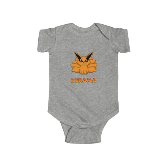 Adorable Nine Tail Fox Baby Kurama Cute Baby Toddler Onesie