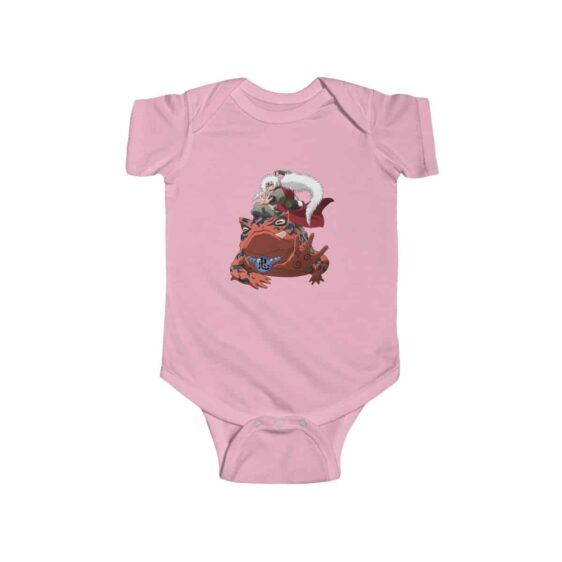 Legendary Sannin Toad Sage Jiraiya Cool Baby Toddler Onesie