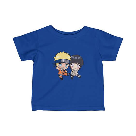 Adorable Uzumaki Naruto and Hinata Hyuga Newborn T-Shirt