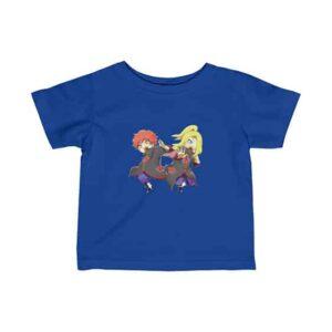 Akatsuki Duo Sasori & Deidara Chibi Art Newborn T-Shirt
