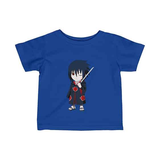 Akatsuki Sasuke Uchiha Holding Katana Cool Baby Shirt