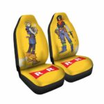 Android 18 and 17 With Dr. Gero Dope DBZ Car Seat Cover
