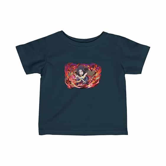 Badass Uchiha Sasuke Battle Stance Artwork Baby T-Shirt