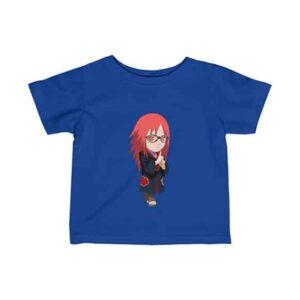 Chibi Art Uzumaki Karin Lovely Naruto Newborn T-Shirt
