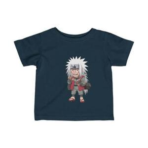 Chibi Jiraiya Writing Novel Amazing Naruto Baby Shirt