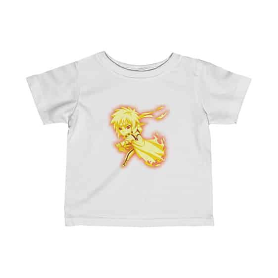 Chibi Minato Namikaze Kyuubi Chakra Mode Dope Baby T-Shirt