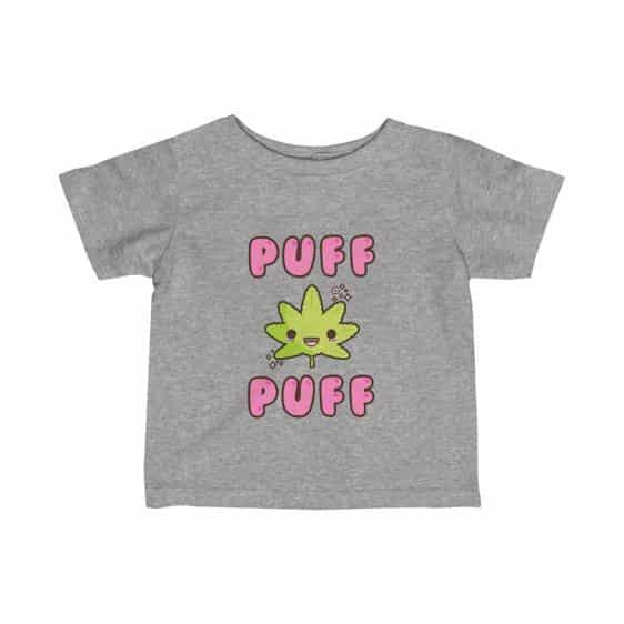 Chibi Puff Puff Marijuana Leaf Adorable Infant T-shirt