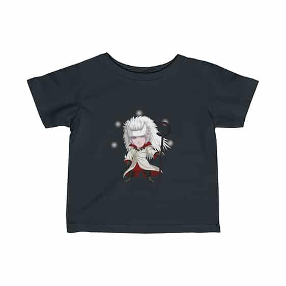 Chibi Uchiha Madara Jinchuriki Mode Awesome Newborn T-Shirt