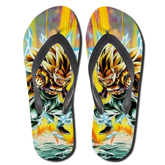 DBZ Gotenks Super Saiyan 3 Power Surge Thong Sandals