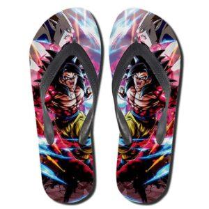 Dragon Ball GT Son Goku SSJ4 Vs Omega Shenron Thong Sandals