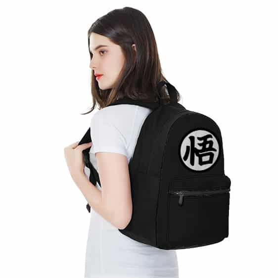 Dragon Ball Goku Symbol Awesome Design School Backpack