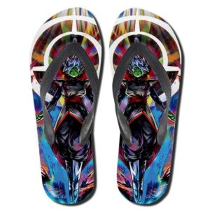 Dragon Ball Super Fused Zamasu Colorful Flip Flop Slippers