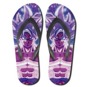 Dragon Ball Super Goku Ultra Instinct Awesome Thong Sandals