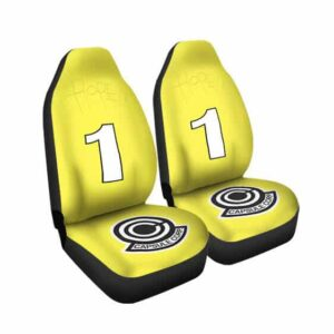 Dragon Ball Z Hope 1 Capsule Corp Yellow Car Seat Cover