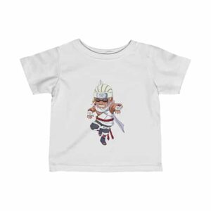 Eight-Tails Jinchuriki Killer Bee Amazing Naruto Baby Shirt