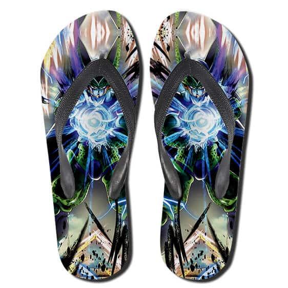 Fantastic DBZ Perfect Cell Solar Kamehameha Thong Sandals