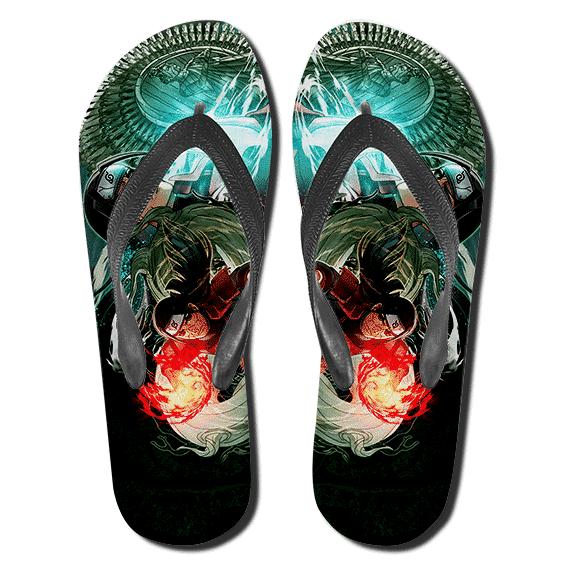 First Hokage Senju Hashirama Ultimate Attack Thong Sandals