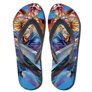 Future Trunks King Cold and Mecha Frieza Flip Flop Slippers