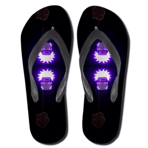 Glowing Nagato Pain Akatsuki Member Flip Flop Sandals