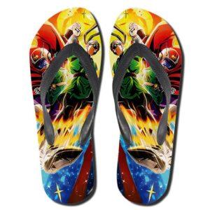 Great Saiyaman Saga Gohan And Videl Flip Flop Sandals