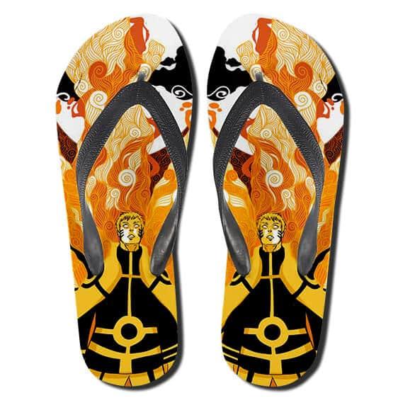 Grown-Up Naruto Kurama Coat Six Path Sage Mode Slippers