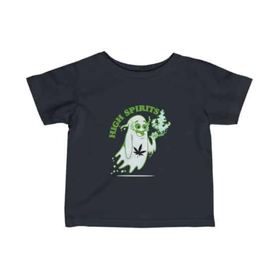 High Spirits Ghost Smoking Marijuana 420 Infant Shirt