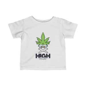 High Times Carefree Marijuana Leaf Art 420 Infant T-shirt
