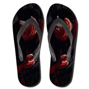 Injured Tobi Sharingan Eyes Dope Flip Flop Sandals