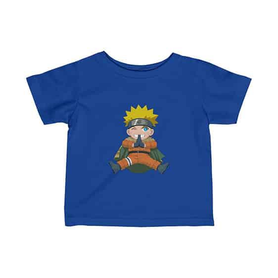 Kid Naruto Uzumaki Jutsu Hand Sign Cute Baby T-Shirt