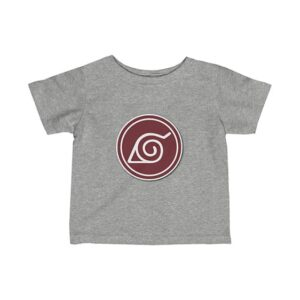 Konoha Leaf Village Ninja Symbol Cool Naruto Baby Shirt