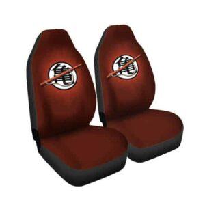 Master Roshi Kanji Symbol Epic Dragon Ball Car Seat Cover
