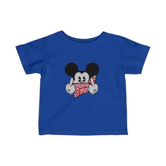 Mickey Mouse Pop Culture Parody Epic Newborn T-shirt