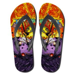 Naruto Jinchuriki And Sasuke Senjutsu Thong Sandals