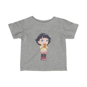 Naruto Next Generations Himawari Uzumaki Adorable Baby Tees
