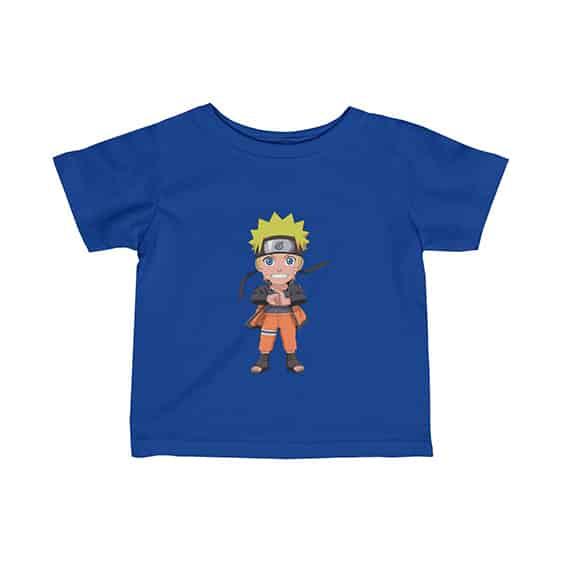 Naruto Uzumaki Chibi Art Style Adorable Baby T-Shirt