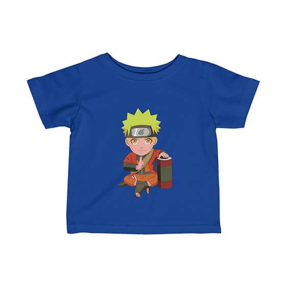 Naruto Uzumaki Sage Mode Chibi Art Adorable Newborn Shirt