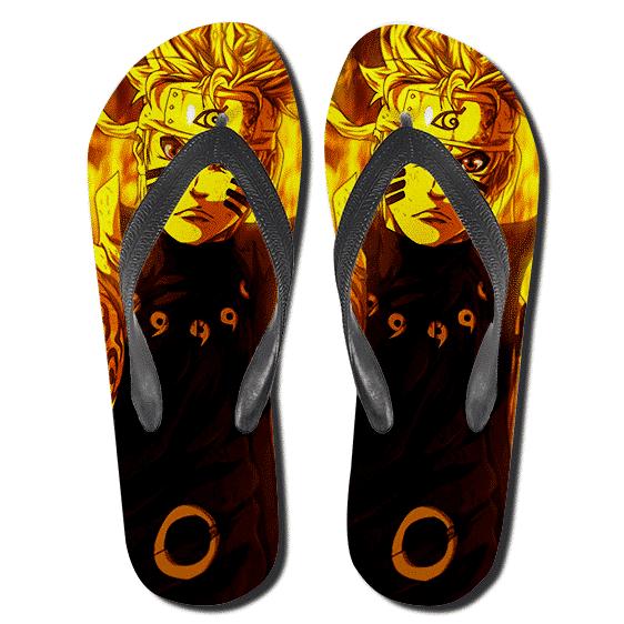 Naruto Uzumaki Sage of Six Paths Mode Flip Flop Sandals