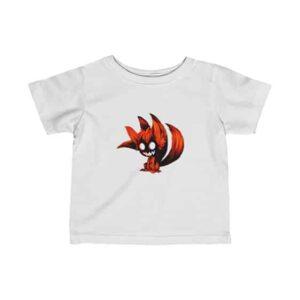 Naruto Uzumaki Tailed Beast Mode Badass Infant T-Shirt