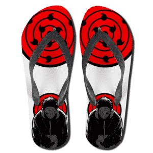 Obito Uchiha Infinite Tsukuyomi Sharingan Slippers