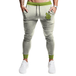 Peace Hand Sign Growing Like Weed Logo Cool Jogger Pants