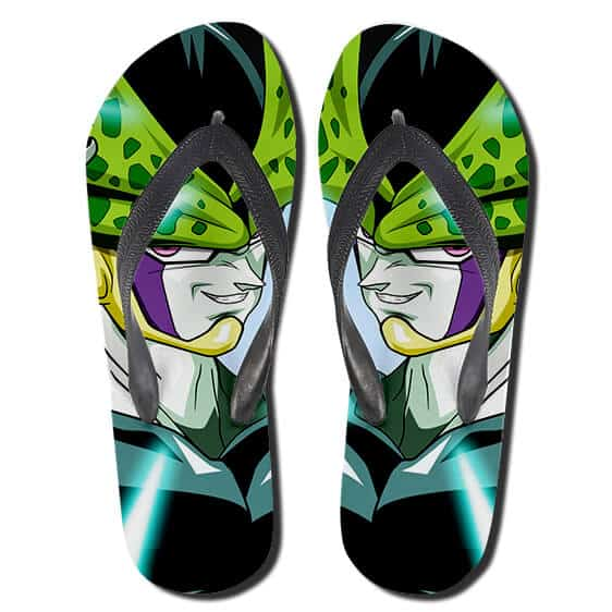 Perfect Warrior Cell Perfect Form Famous Smirk Flip Flops