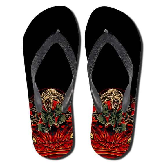Pervert Hermit Jiraiya Toad Sage Mode Flip Flop Slippers