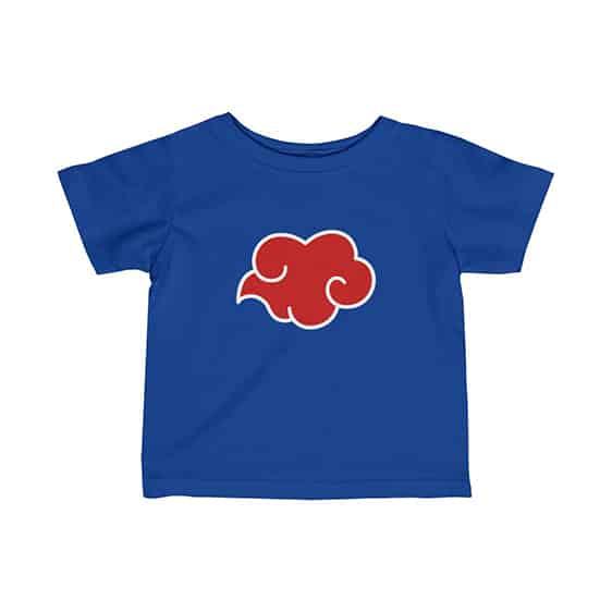 Powerful Akatsuki Group Red Cloud Symbol Dope Baby Tees