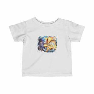 Powerful Naruto Uzumaki & Sasuke Uchiha Art Cool Baby Shirt