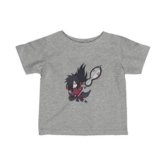 Powerful Uchiha Madara Battle Stance Epic Naruto Baby Shirt