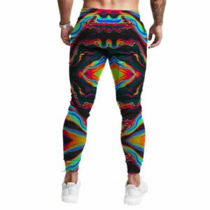 Psychedelic Tie Dye Weed Haze Art Awesome 420 Jogger Pants